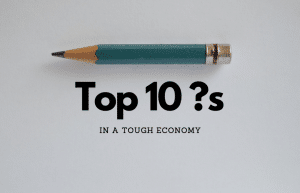top 10 questions with a sharp pencil